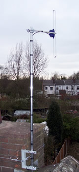 Short Vertical DAB Radio Aerial